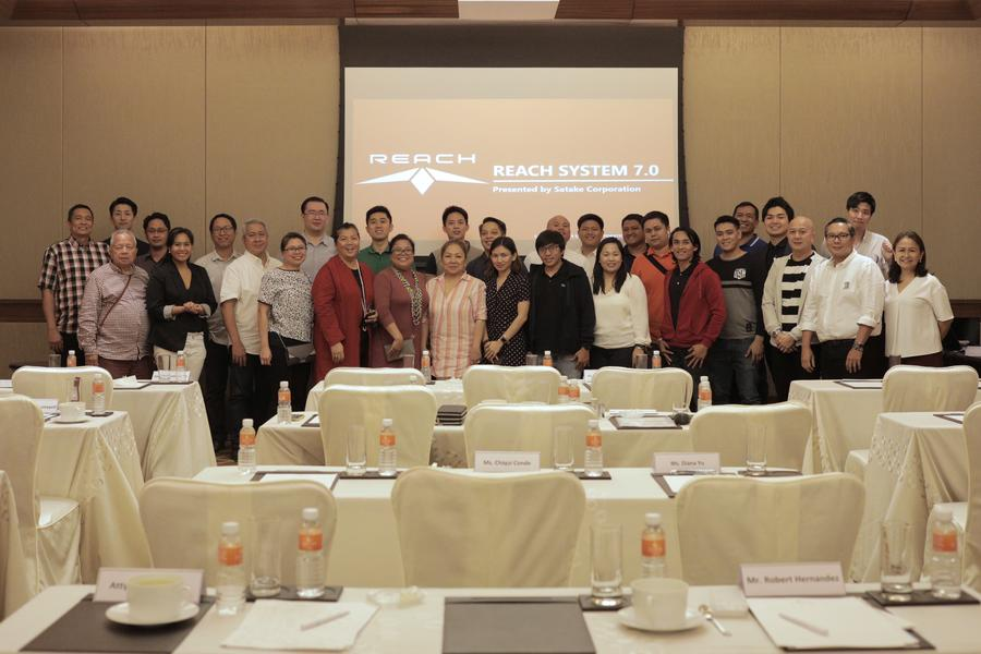 Become REACH with Satake-GIJC  @ Solaire Resort and Casino